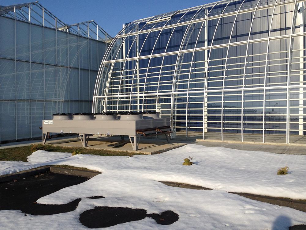 Unitherm klimaattechniek toepassingen kantoren glastuinbouw